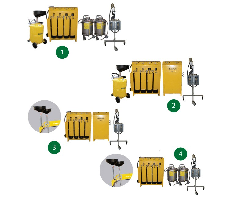 Image of AutoDrain QuickDrain Combinations | End of Life Vehicle Equipment